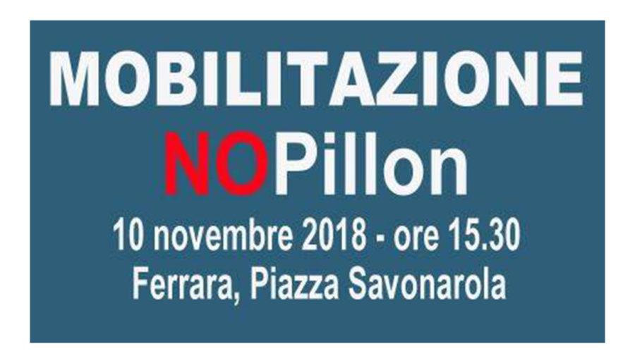 # Stop Pillon – Giornata di mobilitazione nazionale