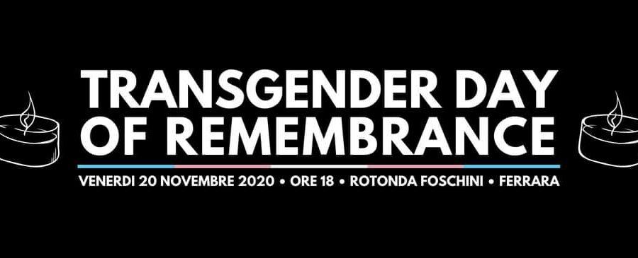 TDoR – Transgender Day of Remembrance